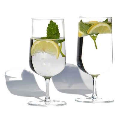 Blue Chilli Design Glas »Design: Queen Ann«, Kristallglas, Handgefertigt, Kristallglas, leicht und filigran, spülmaschinenfest