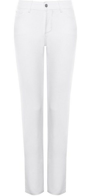 Hosen - NYDJ Marilyn Straight Leg »aus Coloured Denim« › weiß  - Onlineshop OTTO