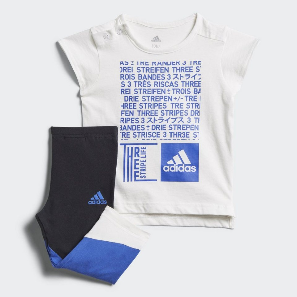 new styles 2185b 1eb18 adidas-performance-trainingsanzug-mini-me-tight-set-white.jpg  formatz