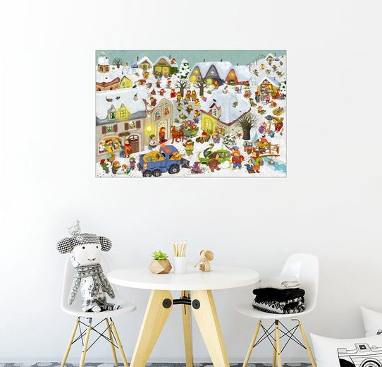 Posterlounge Wandbild - Marion Krätschmer »Winterferien«