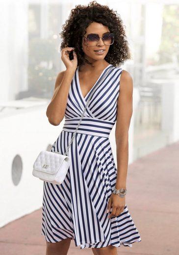 LASCANA Sommerkleid mit Streifenprint