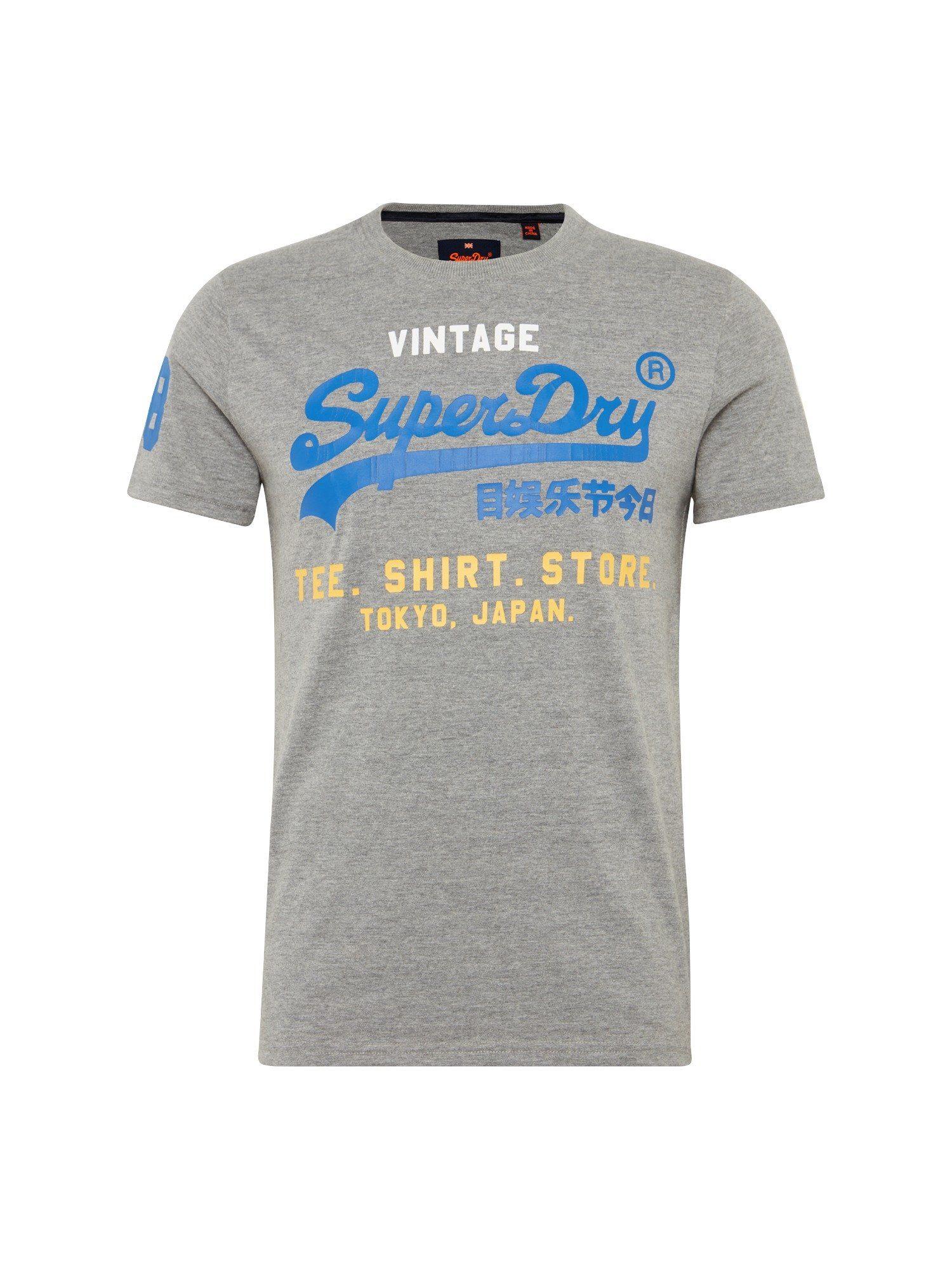 Superdry Rundhalsshirt »SHIRT SHOP TRI«
