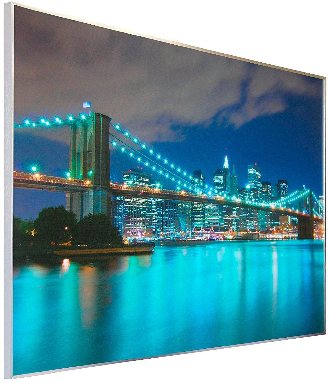 PAPERMOON Infrarotheizung »Bildheizung - New York«, 600 Watt, B/H/T: 100 x 60 x 2 cm