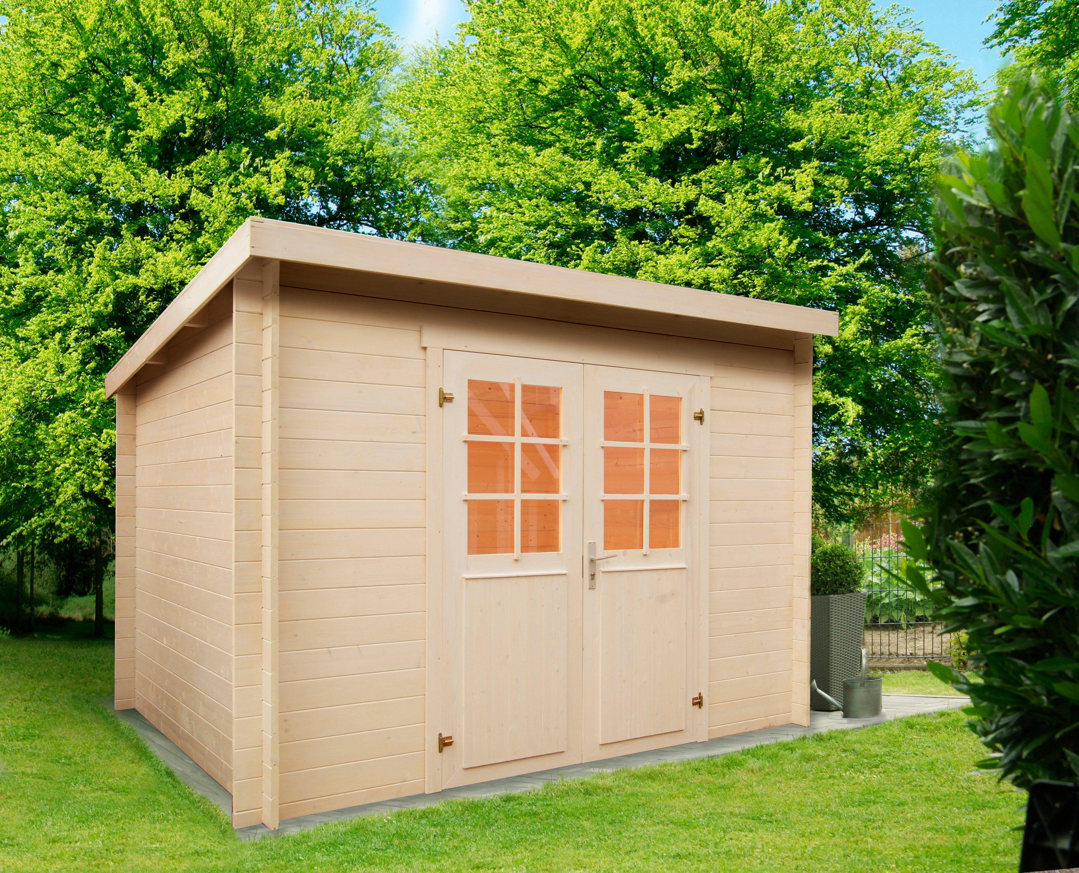 WOLFF Gartenhaus »Gent A«, BxT: 332x274 cm