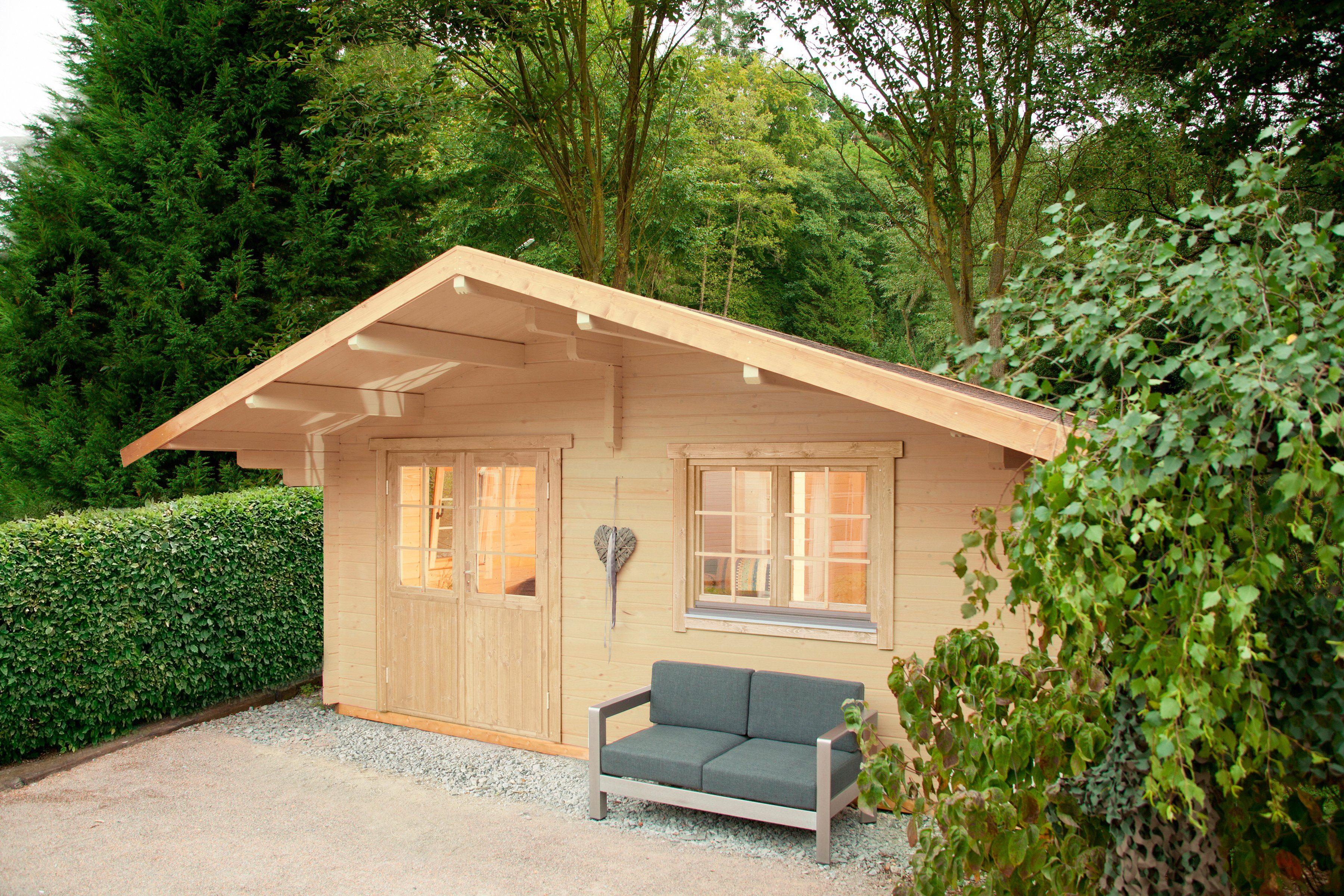 WOLFF Gartenhaus »Lappland 70-B XL«, BxT: 580x640 cm