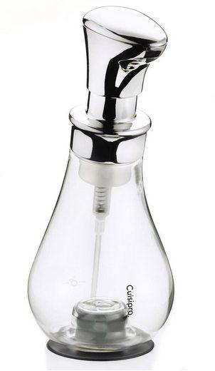 Cuisipro Seifenspender, Glas in Birnenform