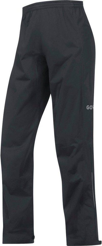 GORE® Wear Regenhose »C3 Gore-Tex Active Pants Men« | Sportbekleidung > Sporthosen > Regenhosen | Schwarz | Polyamid | GORE® Wear