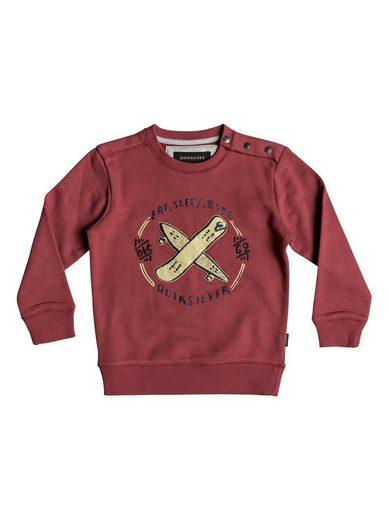 Quiksilver Sweatshirt »Eat And Ride«