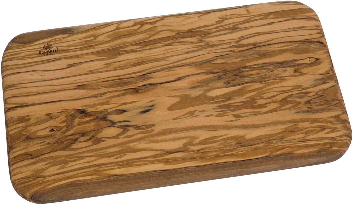 BERARD Schneidbrett rechteckig, Olivenholz, 35 x 20 cm