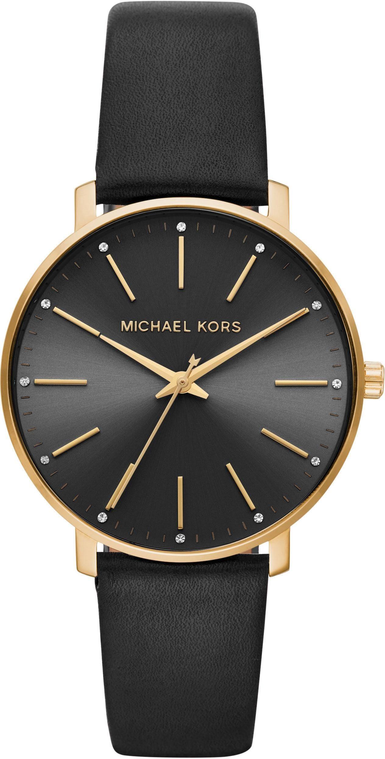 MICHAEL KORS Quarzuhr »PYPER, MK2747«, Schöne Armbanduhr für Damen online kaufen | OTTO