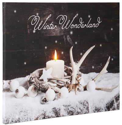 Dreams LED-Bild »Winter Wonderland«, batteriebetrieben
