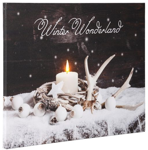 Dreams LED-Bild »Winter Wonderland«, batteriebetrieben