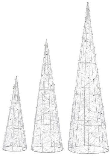 LED Baum »Pyramide«, mit 90 warmweißen LEDs