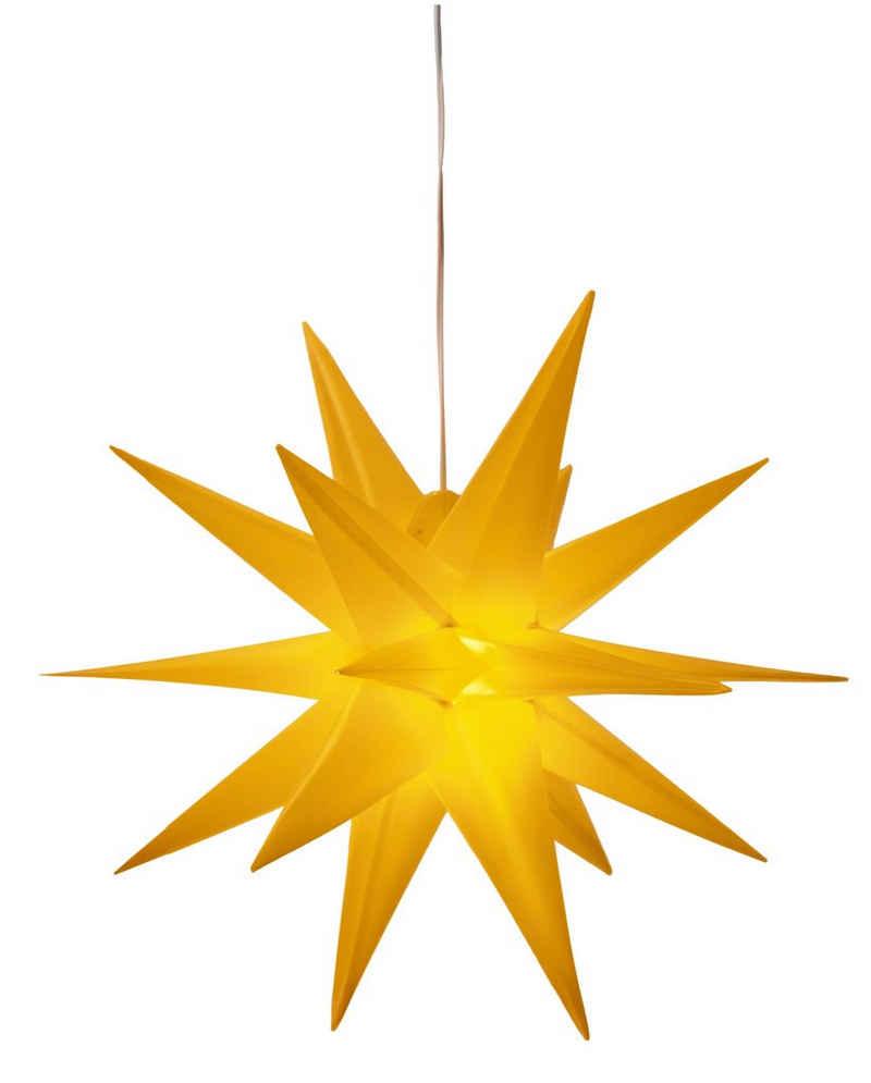 BONETTI LED Stern »3D-Optik«, Ø 57 cm, mit 6-Stunden-Timer