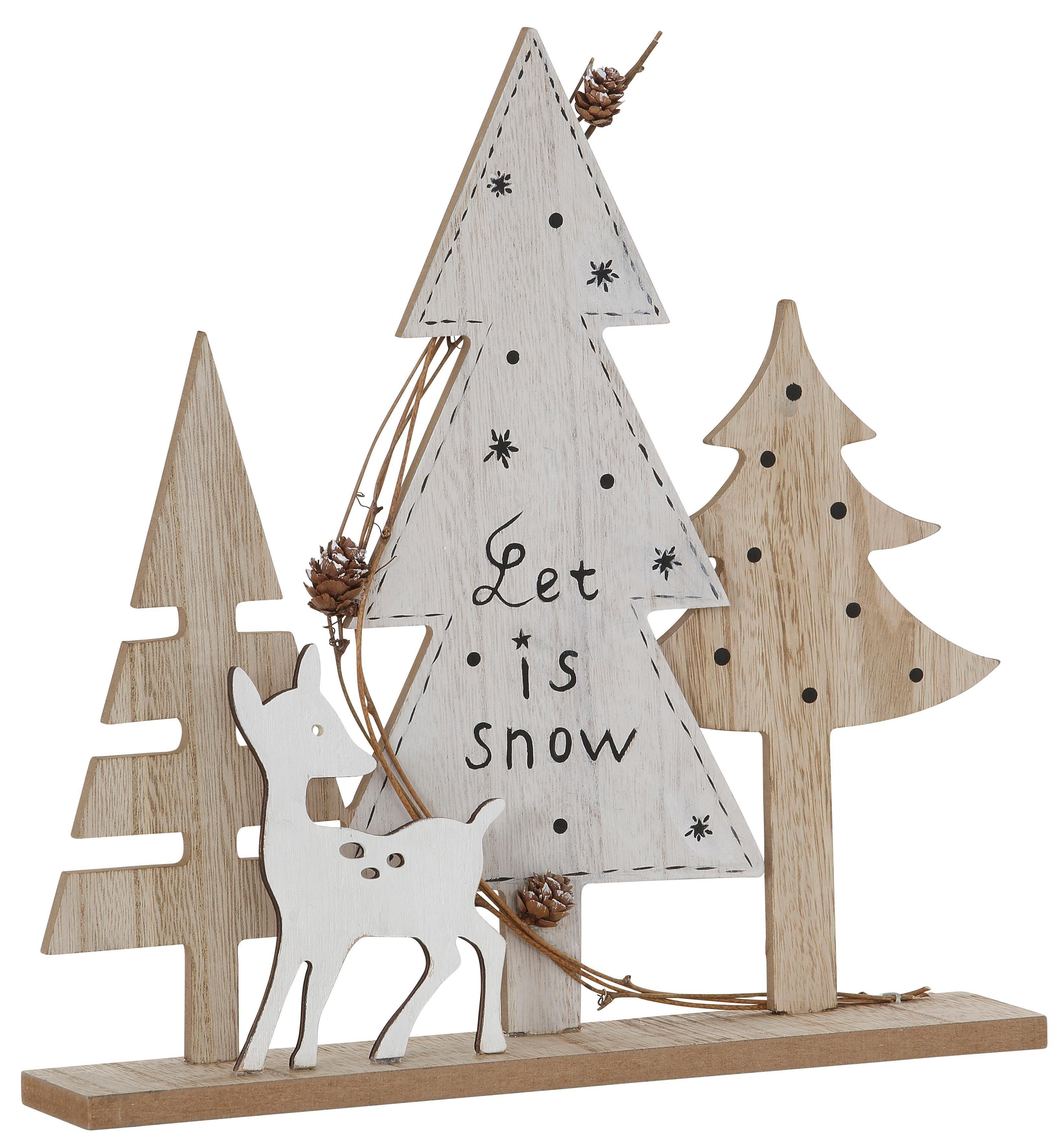 Deko-Objekt, »Let it snow«