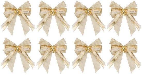 PRÄSENT Weihnachtsbaumschleife »Deluxe« (8-tlg), handgebunden