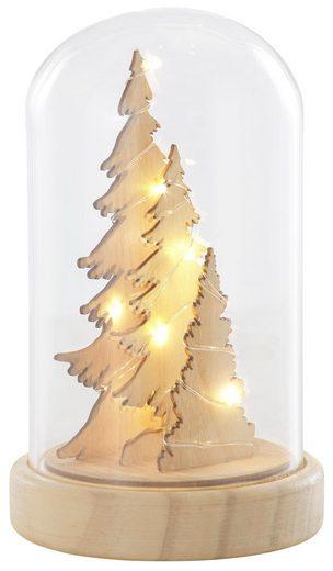Home affaire LED Baum, in Glasglocke