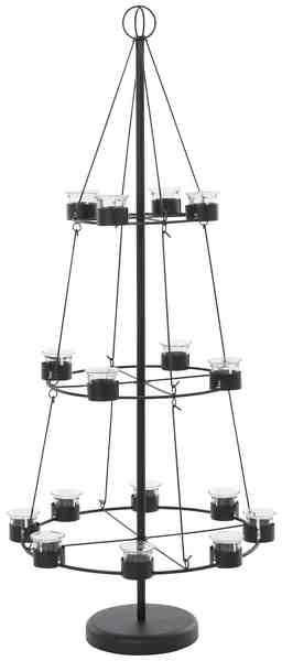 Teelichterhalter, Höhe 120 cm, »Christbaum«