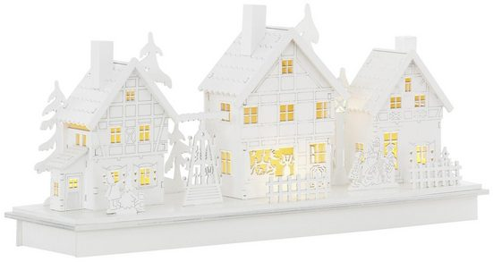 Home affaire Weihnachtsdorf, beleuchtet