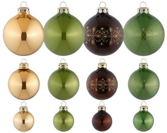 Thüringer Glasdesign Weihnachtsbaumkugel »Royal«, Made in Germany