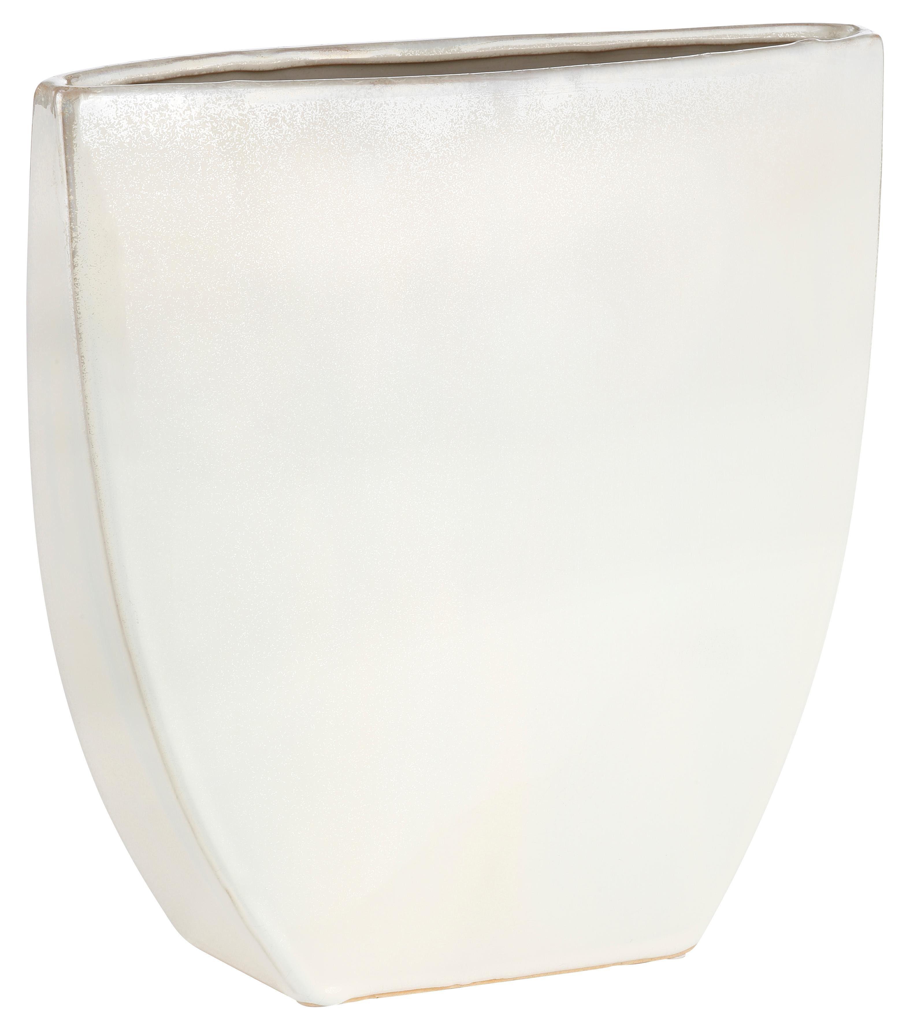 Keramik Vase, »Moon«