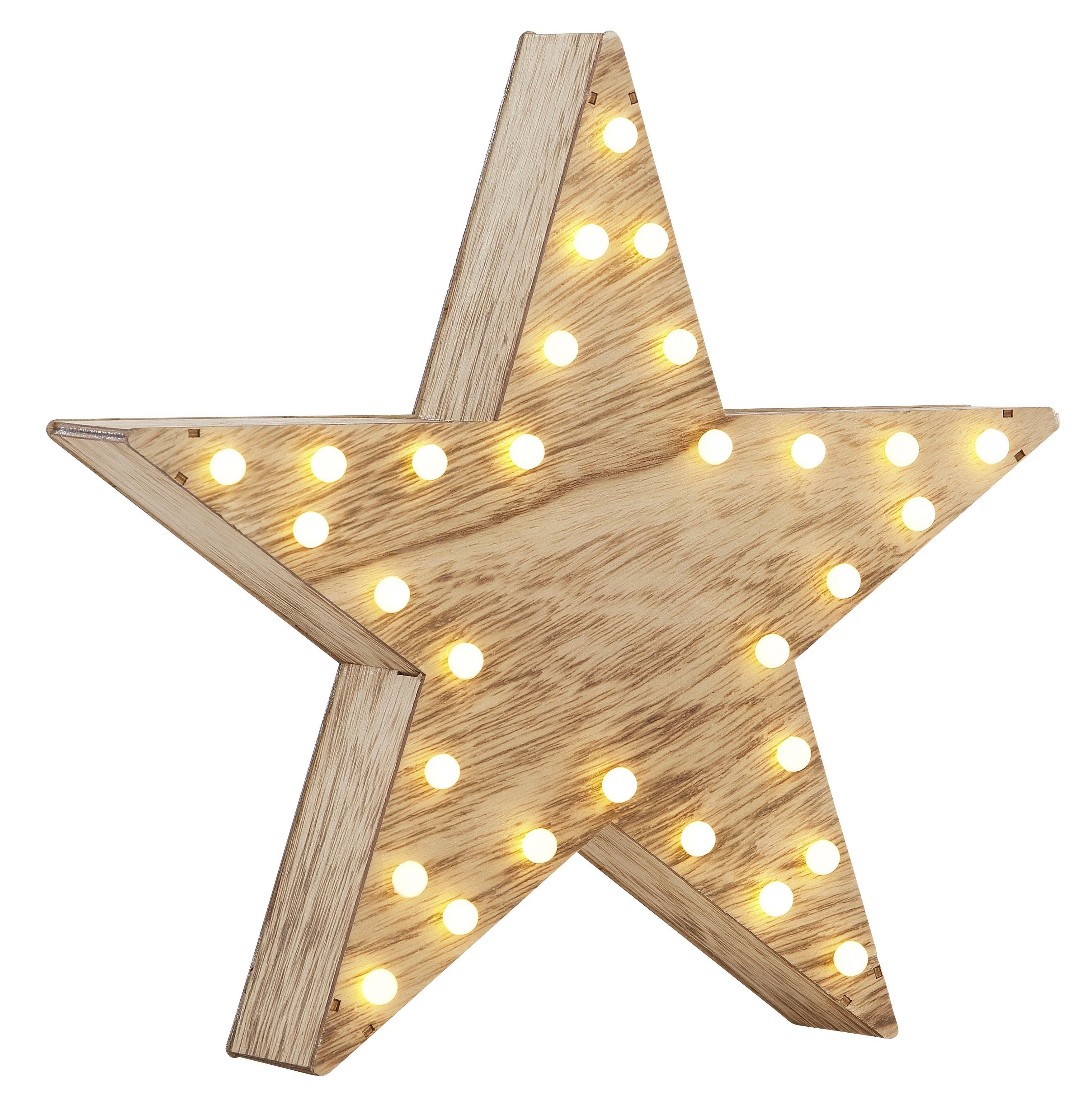 Beleuchteter Stern, Ø 30 cm