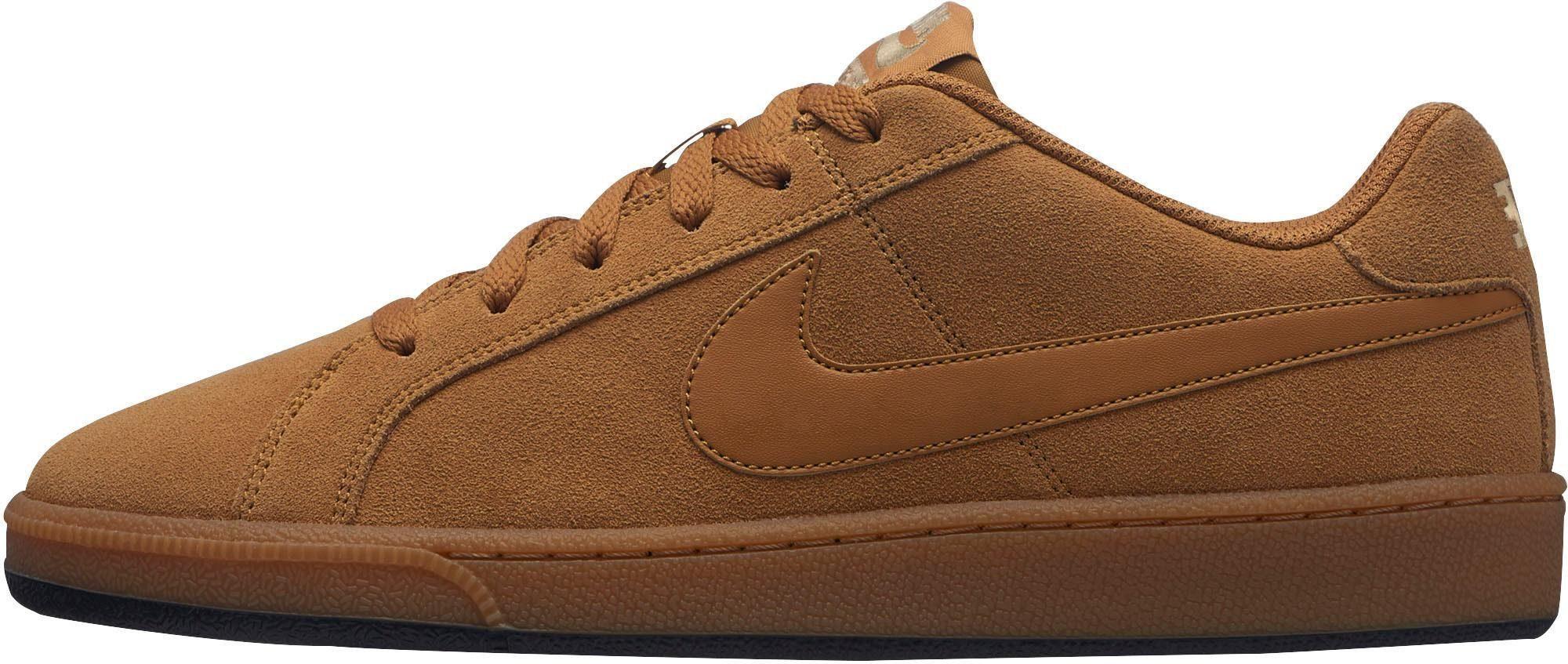 Nike Sportswear »Court Royale Suede« Sneaker, Weiches Obermaterial aus Veloursleder online kaufen | OTTO