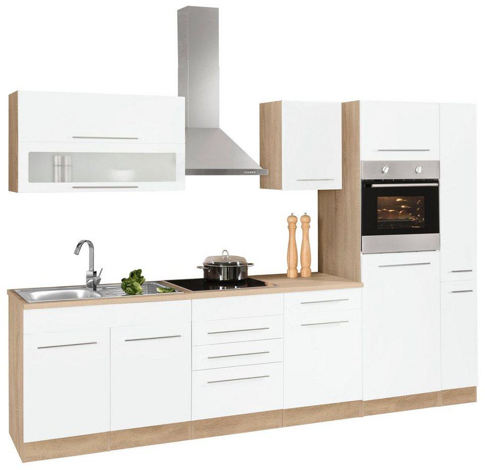held m bel k chenzeile mit e ger ten eton breite 300 cm online kaufen otto. Black Bedroom Furniture Sets. Home Design Ideas