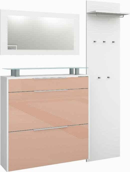 borchardt Möbel Garderoben-Set »Oliva«, (Set, 3-St), hängender Schuhschrank