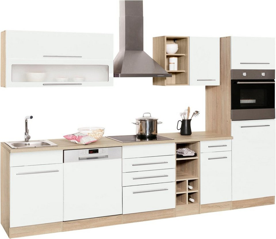 Held Möbel Küchenzeile Eton Ohne E Geräte Breite 300 Cm Online