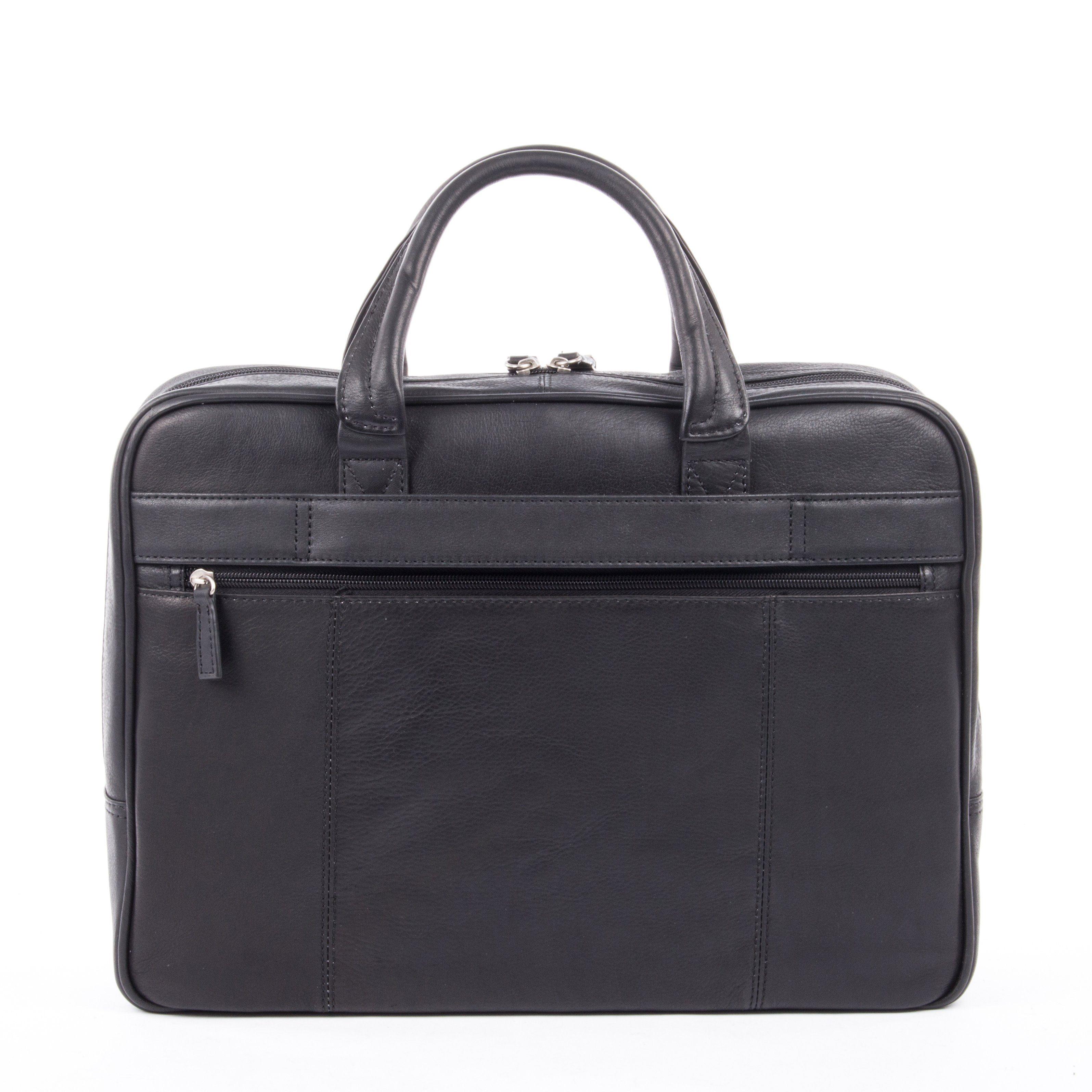 bugatti Notebooktasche mit Reißverschluss