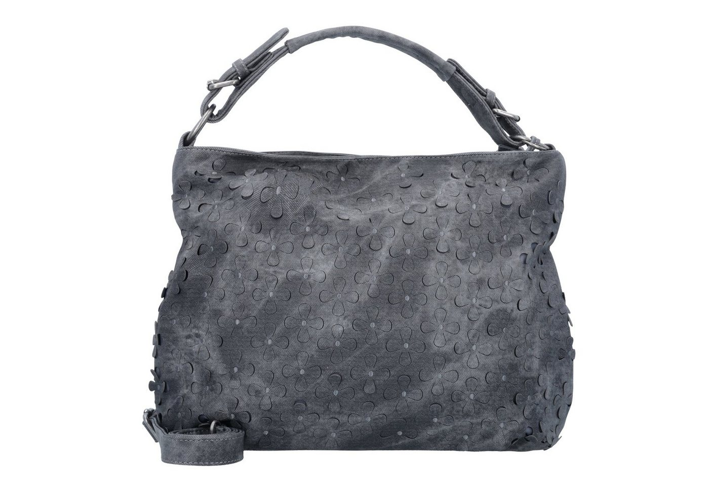 Damen Fritzi aus Preußen Bags Bella Schultertasche 30 cm grau | 04059065112049
