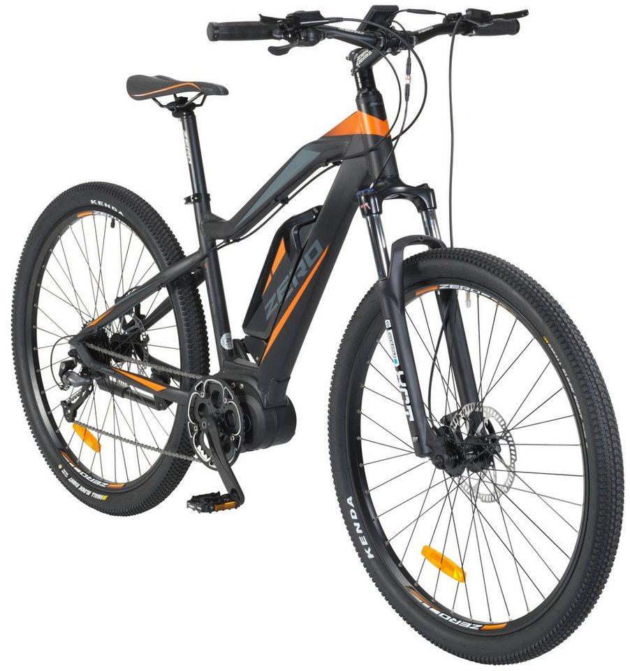 GREENSTREET E-Bike Mountainbike »ZERO«, 29 Zoll, 9 Gang, Mittelmotor ...