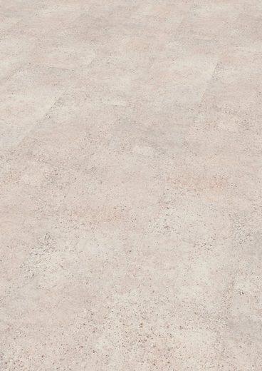 EGGER Laminat »HOME Quincy Sandstein«, Fliesenoptik, 2,533 m²/Pkt., Stärke: 8 mm