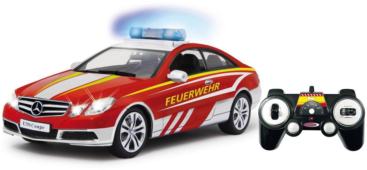 JAMARA RC Feuerwehr-Fahrzeug, »Mercedes E350 Coupe Feuerwehr, 1:16«