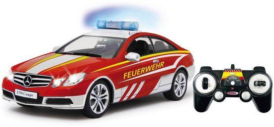 Jamara RC-Fahrzeug »Mercedes E350 Coupe Feuerwehr«, mit Licht und Sound