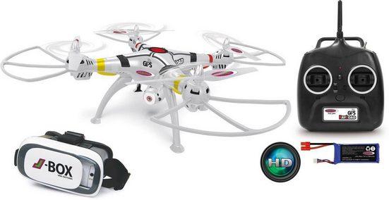 Jamara RC-Quadrocopter »Payload GPS VR Drone Altitude HD« (Set, Komplettset), mit Kamera
