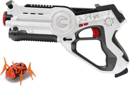 Jamara Laserpistole »Impulse Laser Bug Hunt Set weiß/orange« (2-tlg)