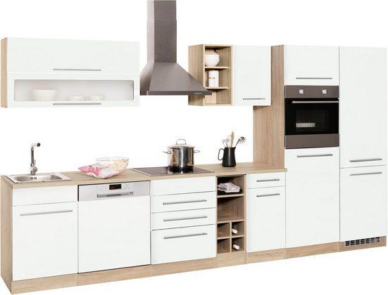 HELD MÖBEL Küchenzeile »Eton«, mit E-Geräten, Breite 360 cm