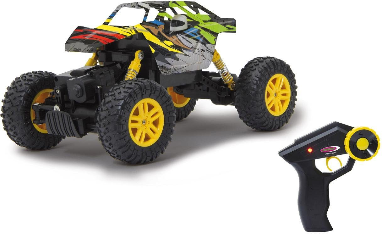 JAMARA RC Fahrzeug, »Hillriser Crawler, 1:18, gelb«