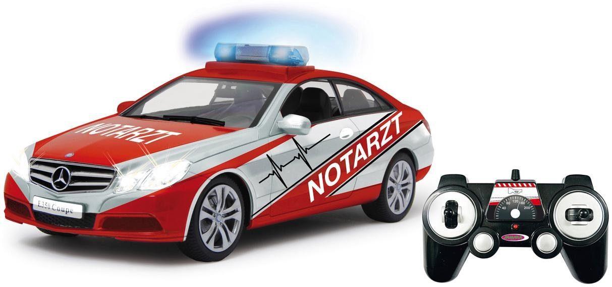JAMARA RC Notarzt-Fahrzeug, »Mercedes E350 Coupe Notarzt, 1:16«
