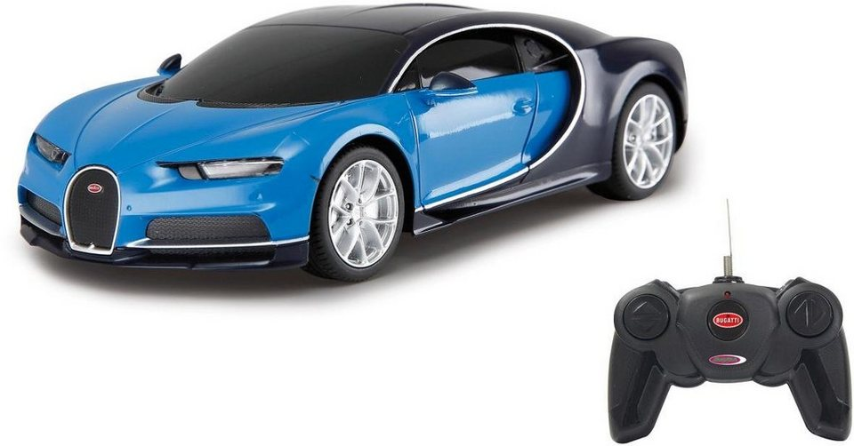 jamara rc fahrzeug bugatti chiron 1 24 blau otto. Black Bedroom Furniture Sets. Home Design Ideas