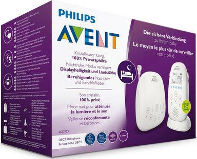 Philips Avent DECT Babyphone SCD723/26, mit Gegensprechfunktion, Nachtruhemodus, ECO-Modus, Smart ECO-Modus, Nachtruhemodus, weiß online kaufen 6b59c0
