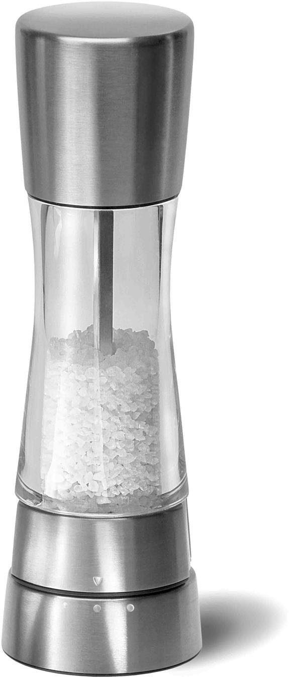 Cole & Mason Salzmühle »Derwent Edelstahl/Acryl 190 mm« manuell