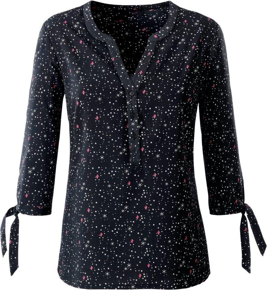 ambria bluse mit kleinen sternchen p nktchen und diamanten bedruckt online kaufen otto. Black Bedroom Furniture Sets. Home Design Ideas