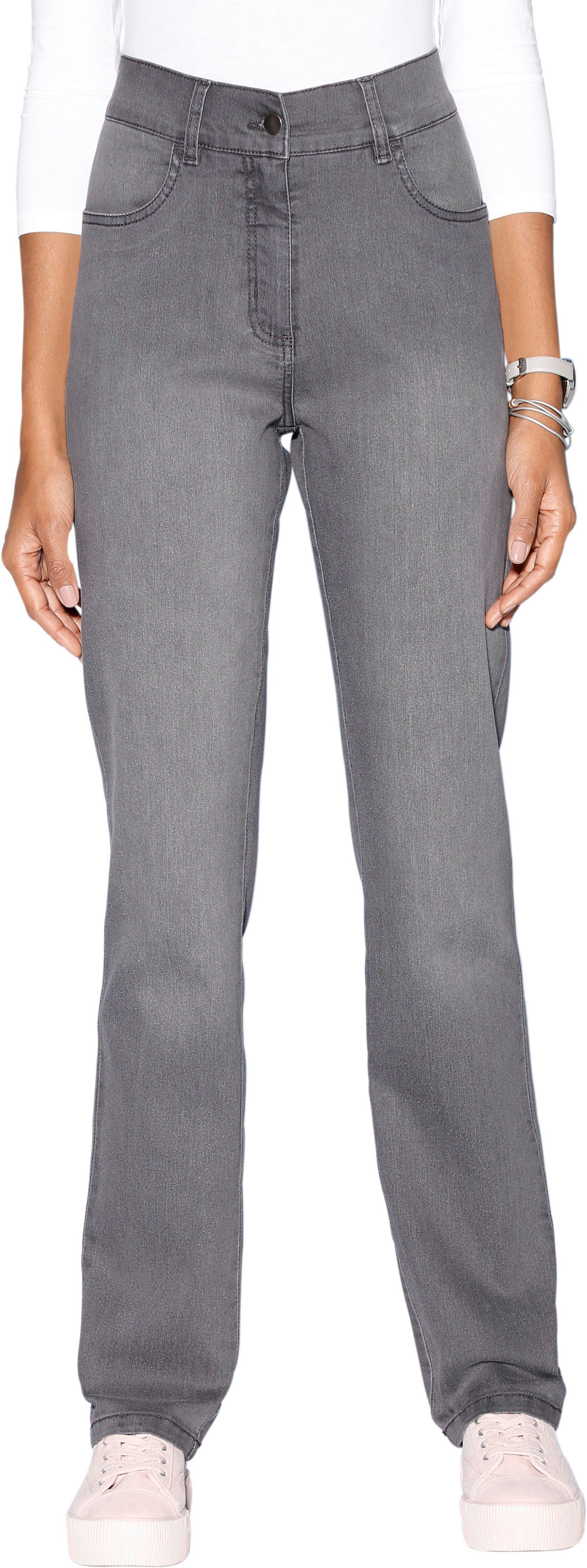 Classic Basics Jeans mit Wow-Effekt