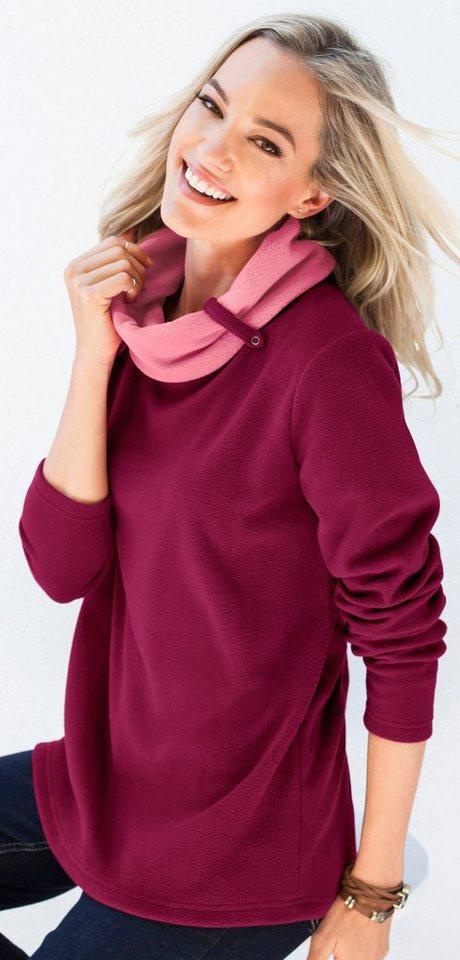 Classic Basics Fleece-Shirt zum Reinkuscheln | Bekleidung > Sweatshirts & -jacken > Fleeceshirts | Lila | Fleece | Classic Basics