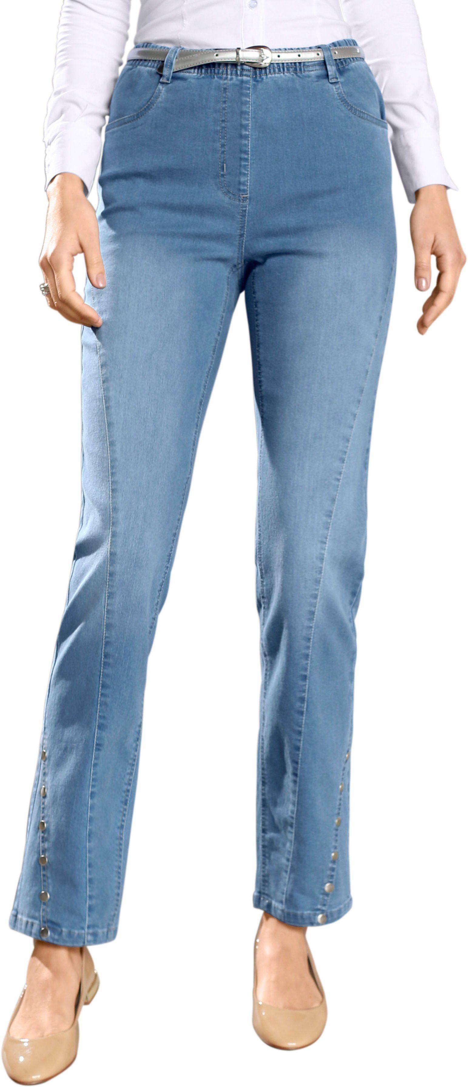 Classic Basics Jeans mit Passformsattel hinten