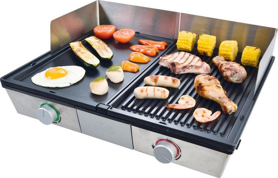 Severin Elektrogrill Smart Line : Solis of switzerland tischgrill solis deli grill typ 7951 2400 w