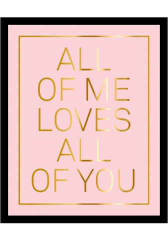 G&C G&C paveikslas »ALL OF ME PINK«